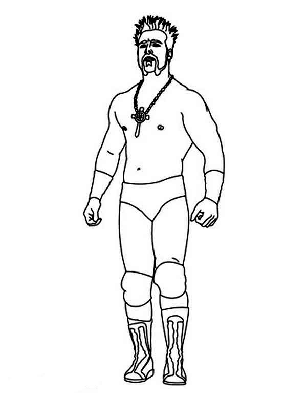 Wwe Sheamus Coloring Pages Sketch