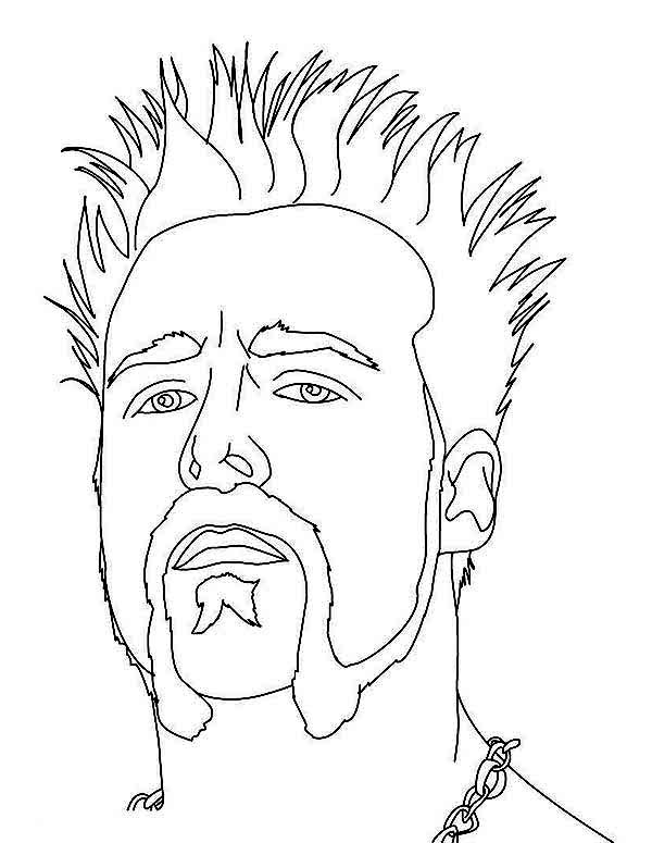 wwe roman reigns coloring pages