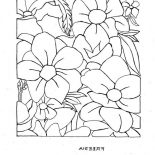 Hibiscus Flower, Freesia Flower Coloring Page: Freesia Flower Coloring Page