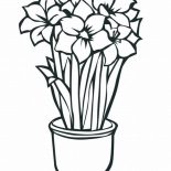 Flower Bouquet, Growing Flower For Flower Bouquet Coloring Page: Growing Flower for Flower Bouquet Coloring Page