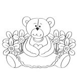 Happy Birthday, Happy Birthday Grandma Coloring Page: Happy Birthday Grandma Coloring Page