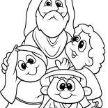 Jesus Loves Me, Jesus Love Me And All The Children In The World Coloring Page: Jesus Love Me and All the Children in the World Coloring Page