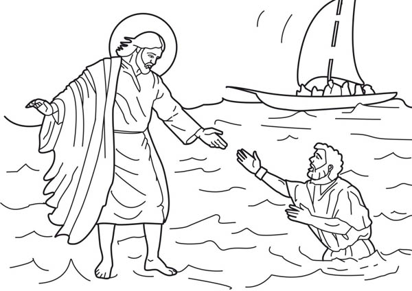 Jesus Loves Me, : Jesus Love Me and Other People Coloring Page