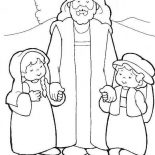 Jesus Loves Me, Jesus Taught His Friends How To Pray And Jesus Love Me Coloring Page: Jesus Taught His Friends How to Pray and Jesus Love Me Coloring Page