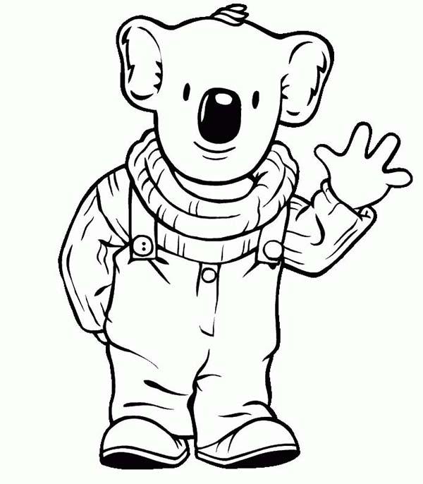 Koala Bear, : Koala Bear in Koala Brothers 3 Coloring Page