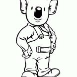 Koala Bear, Koala Bear The Handy Man Coloring Page: Koala Bear the Handy Man Coloring Page