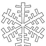 Snowflakes, S Is For Snowflakes Coloring Page: S is for Snowflakes Coloring Page