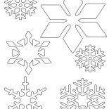 Snowflakes, Snowflakes Wonder Coloring Page: Snowflakes Wonder Coloring Page