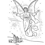Angels, Angels Come To All Of Us Coloring Page: Angels Come to All of Us Coloring Page