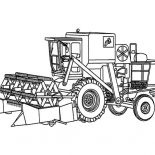 Digger, Awesome Drawing Of A Digger Coloring Page: Awesome Drawing of a Digger Coloring Page