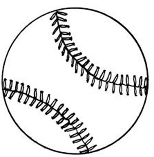 MLB, : Baseball in MLB Coloring Page