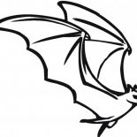 Bats, Bats Spread His Wing Wide Coloring Page: Bats Spread His Wing Wide Coloring Page