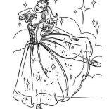 Ballerina, Beautiful Barbie Ballerina Coloring Page: Beautiful Barbie Ballerina Coloring Page