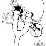 NFL, Cleveland NFL Coloring Page: Cleveland NFL Coloring Page