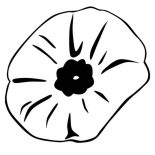 Poppy, Close Up Picture Of Poppy Coloring Page: Close Up Picture of Poppy Coloring Page