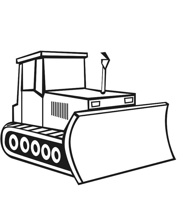 Digger, : Digger Image Coloring Page