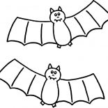 Bats, Dracula Bats Coloring Page: Dracula Bats Coloring Page