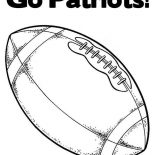 NFL, Go Patriots In NFL Coloring Page: Go Patriots in NFL Coloring Page