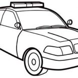 Police Car, How To Draw Police Car Coloring Page: How to Draw Police Car Coloring Page