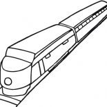 Trains, How To Draw A Train Coloring Page: How to Draw a Train Coloring Page
