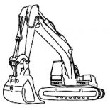 Digger, Image Of Awesome Digger Coloring Page: Image of Awesome Digger Coloring Page