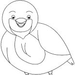 Quail, Laughing Valley Quail Coloring Page: Laughing Valley Quail Coloring Page