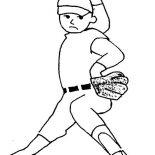 MLB, MLB Coloring Page: MLB Coloring Page