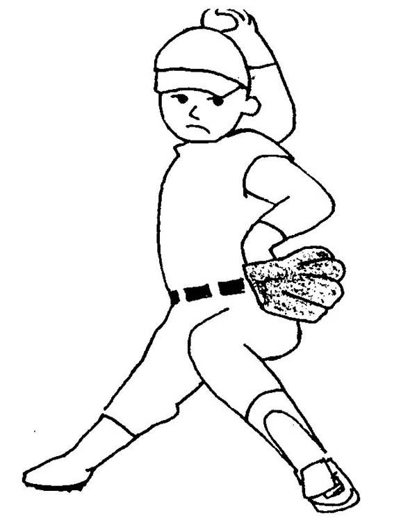 MLB, : MLB Coloring Page
