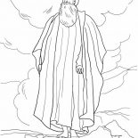 Moses, Moses And The Promised Land Coloring Page: Moses and the Promised Land Coloring Page