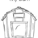Barn, My Barn Coloring Page: My Barn Coloring Page