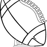 NFL, NFL Game At Rose Bowl Coloring Page: NFL Game at Rose Bowl Coloring Page