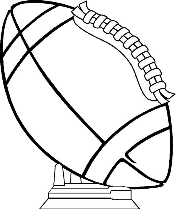 NFL, : NFL Game at Rose Bowl Coloring Page