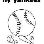MLB, NY Yankess In MLB Coloring Page: NY Yankess in MLB Coloring Page
