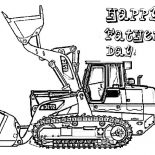 Digger, Picture Of Digger On Fathers Day Coloring Page: Picture of Digger on Fathers Day Coloring Page