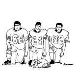 NFL, Picture Of NFL Player Coloring Page: Picture of NFL Player Coloring Page