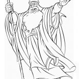 Moses, Picture Of Prophet Moses Coloring Page: Picture of Prophet Moses Coloring Page