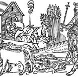 Middle Ages, Queen And Her People In Middle Ages Coloring Page: Queen and Her People in Middle Ages Coloring Page
