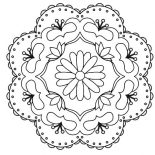 Rangoli, Rangoli Design For Living Room Coloring Page: Rangoli Design for Living Room Coloring Page