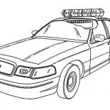 Police Car, Special Force Police Car Coloring Page: Special Force Police Car Coloring Page
