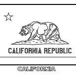 State Flag, State Flag Of California Coloring Page: State Flag of California Coloring Page