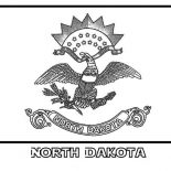 State Flag, State Flag Of North Dakota Coloring Page: State Flag of North Dakota Coloring Page