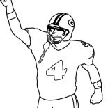 NFL, Touch Down In NFL Coloring Page: Touch Down in NFL Coloring Page