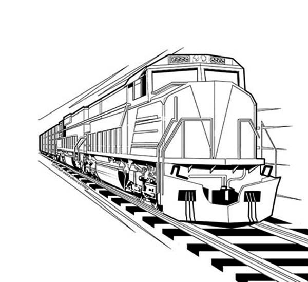 high speed train coloring pages - train locomotive coloring page color luna