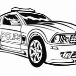 Police Car, Transformers Police Car Coloring Page: Transformers Police Car Coloring Page