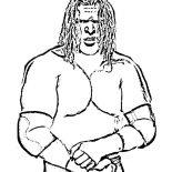 Wrestling, Triple H From World Wrestling Entertainment  Coloring Page: Triple H from World Wrestling Entertainment  Coloring Page