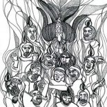 Pentecost, Awesome Picture Of In Pentecost Coloring Page: Awesome Picture of in Pentecost Coloring Page