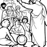 Pentecost, Celebrating Shavuot In Pentecost Coloring Page: Celebrating Shavuot in Pentecost Coloring Page