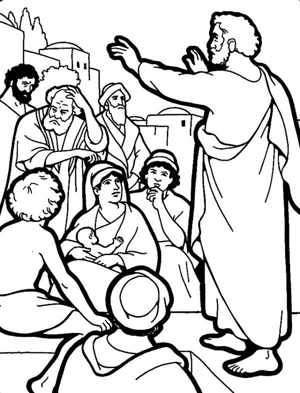 Pentecost, : Celebrating Shavuot in Pentecost Coloring Page