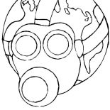 Earth Day, Less Toxic Environment On Earth Day Coloring Page: Less Toxic Environment on Earth Day Coloring Page