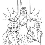 Pentecost, Pentecost Coloring Page: Pentecost Coloring Page